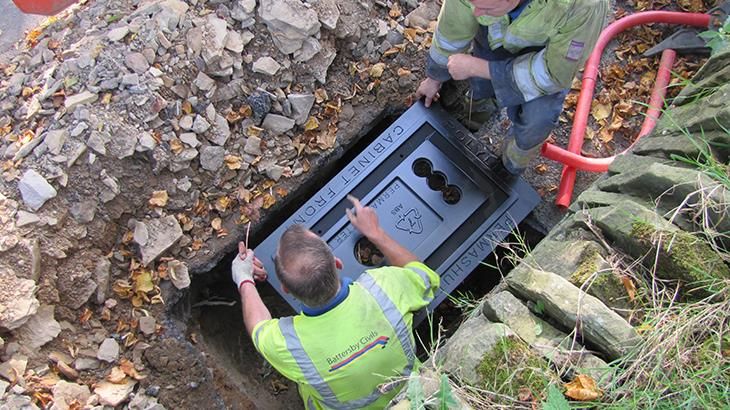 176 - BT Openreach - Conductive Concrete Install (Upholland) - UK - Telecoms (10)