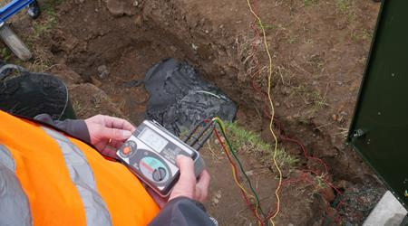 Retrospective Earthing Installation
