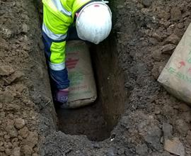 Toolbox Talks: Conductive Concrete Retrospective Install, Openreach