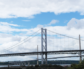 Queensferry Crossing Bridge Construction