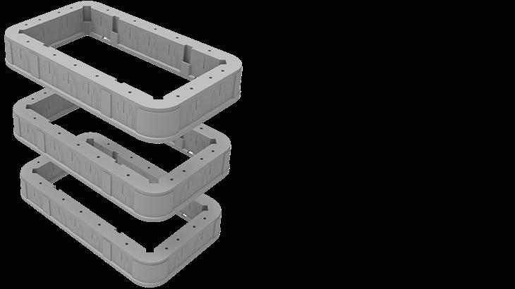 STAKKAbox™ Quad Access Chamber | Cubis Systems