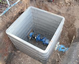 Sports Centre Water Meter Installation