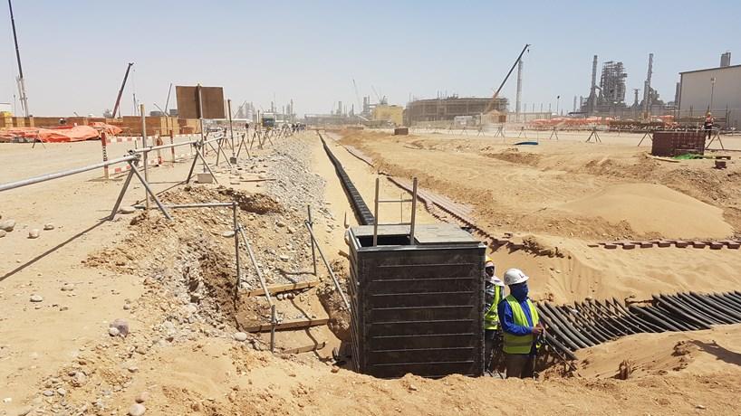 Fibre Optic & CCTV for Saudi Arabian Complex | Cubis Systems
